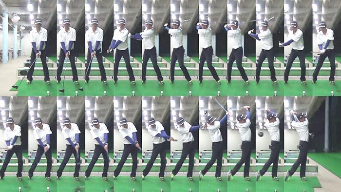 ハンディカムのゴルフショット機能の画像
