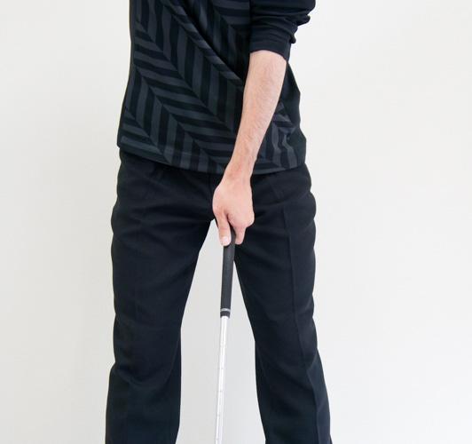 B2タイプのゴルフグリップの画像