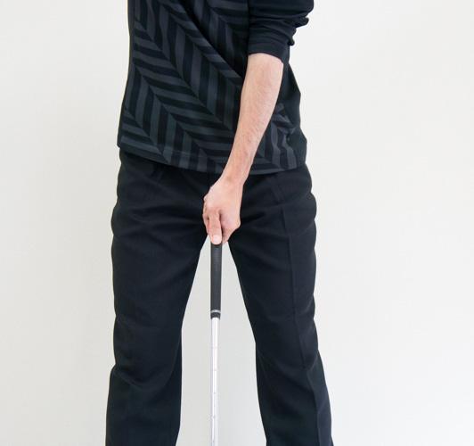 B1タイプのゴルフグリップの画像