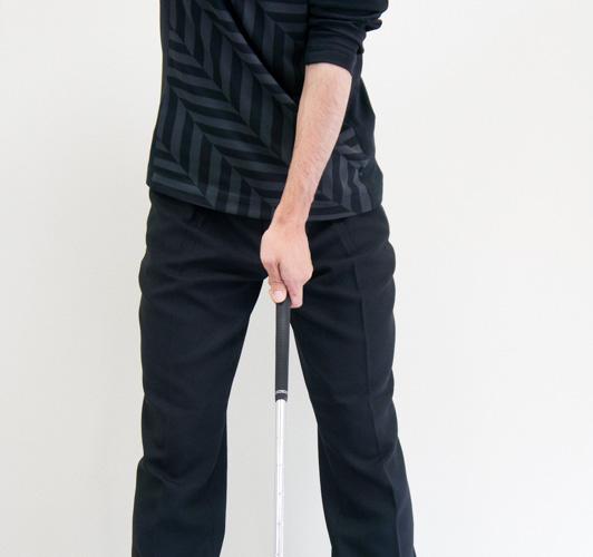 A1タイプのゴルフグリップの画像