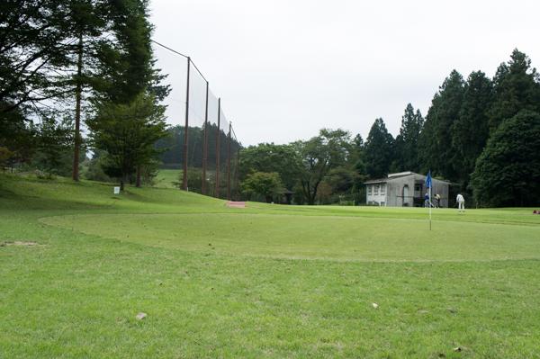 ヴィレッジ東軽井沢ゴルフクラブのアプローチグリーンの画像