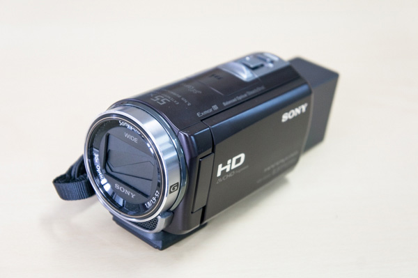 SONY HANDYCAM HDR-CX430の画像