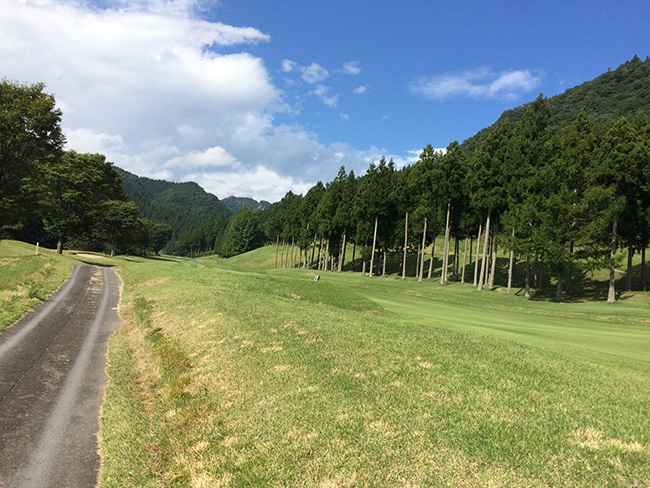 ヴィレッジ東軽井沢ゴルフクラブ3番ホールの画像