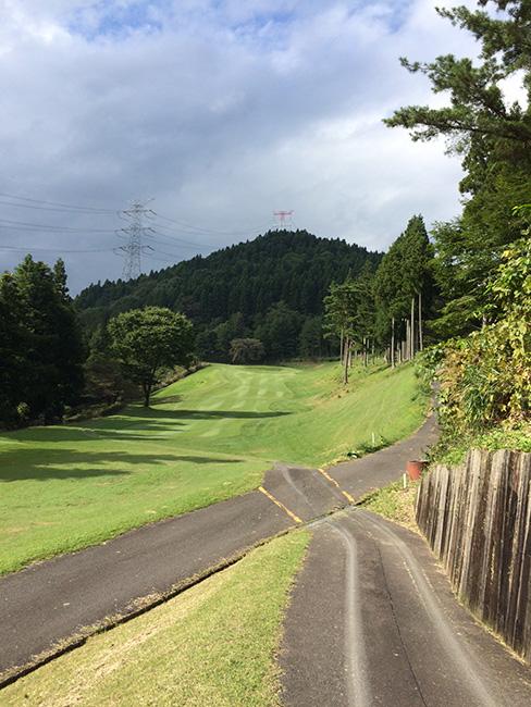 ヴィレッジ東軽井沢ゴルフクラブ5番ホールの画像