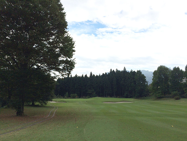 ヴィレッジ東軽井沢ゴルフクラブ9番ホールの画像
