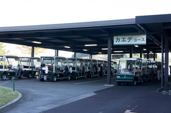 関越ハイランドゴルフクラブのエンジンカートの画像
