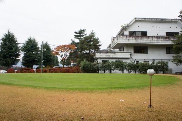 高崎KGカントリークラブのIN練習グリーンの画像