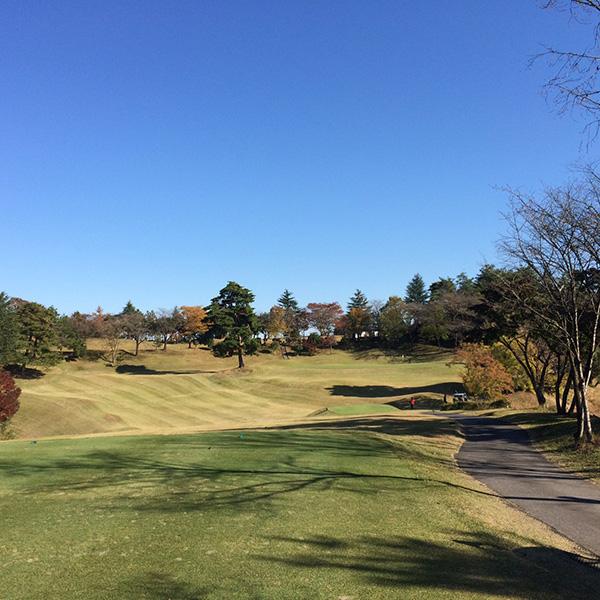 関越ハイランドゴルフクラブのケヤキ4番ホールの画像