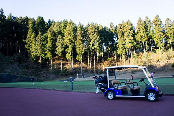熱海倶楽部 東軽井沢ゴルフコースの練習グリーンの画像