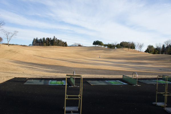 レイクウッドゴルフクラブ富岡コースの練習グリーンの画像