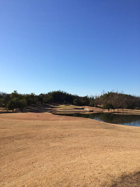レイクウッドゴルフクラブ富岡コースオレンジ7番ホールの画像
