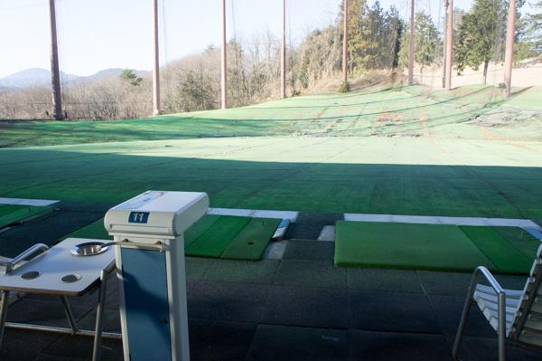 藤岡ゴルフクラブの練習場の画像