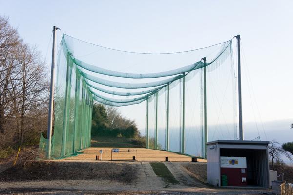 21センチュリークラブ 富岡ゴルフコースの練習場の画像