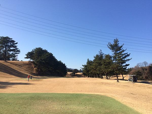 藤岡ゴルフクラブ西コース10番ホールの画像