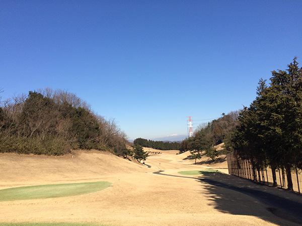 藤岡ゴルフクラブ西コース12番ホールの画像