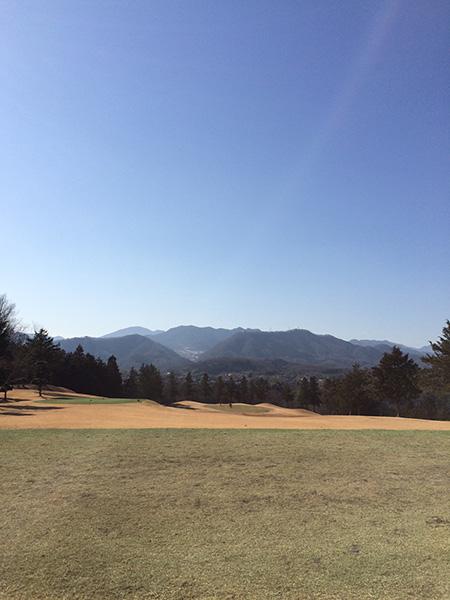 藤岡ゴルフクラブ西コース13番ホールの画像