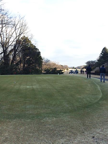 21センチュリークラブ富岡ゴルフコースの練習グリーンの画像