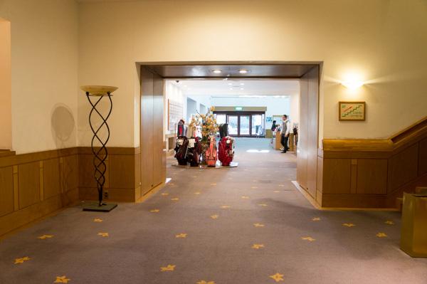 赤城カントリー倶楽部のクラブハウス内の画像