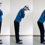 ゴルフで前傾を維持してバランスよくスイングする方法