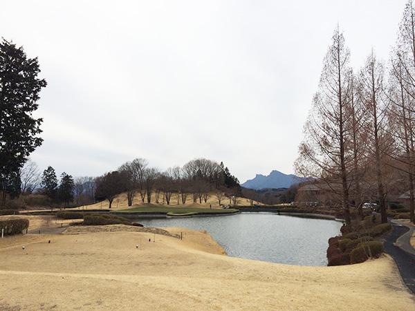 梅ノ郷ゴルフ倶楽部9番ホールの画像