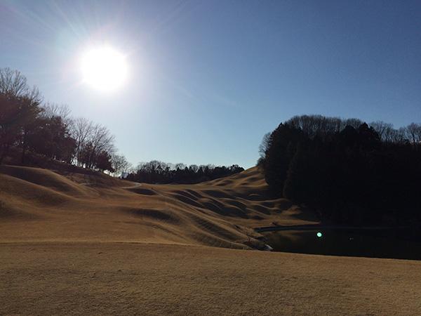 梅ノ郷ゴルフ倶楽部17番ホールの画像