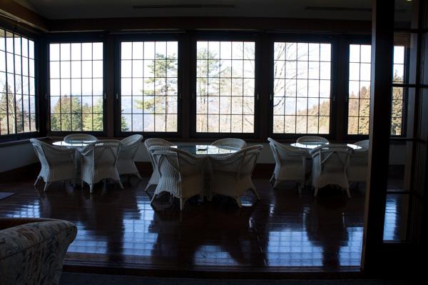 榛名の森カントリークラブのクラブハウス内の画像