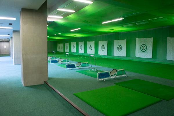 榛名の森カントリークラブの練習場の画像