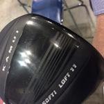 ジャパンゴルフフェアでカムイTP-09Dドライバーを試打