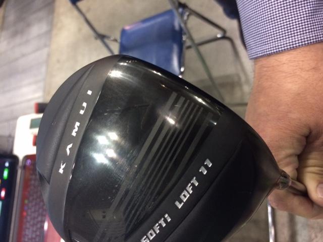 カムイTP-09Dドライバーのヘッドの画像